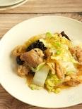 白菜と豚肉の中華風春雨炒め