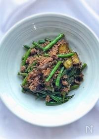 『ご飯が進みます!☆夏野菜とひき肉のオイスター炒め☆』