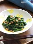空芯菜と干しえびの炒めもの