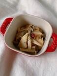 筍ときのこの塩麹マリネ