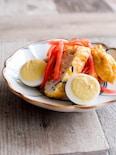 ふんわり白身魚揚げと紅生姜のさっと炒め