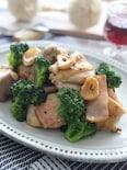 ガツンとガーリック!鶏肉とブロッコリーののガリバタ炒め