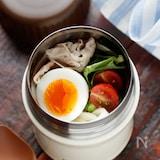 サラダうどん【#レンジ#練りごま不要#スープジャー】