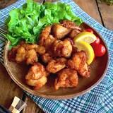 柔らかさと味の良さにやみつき‼︎【鶏むね肉の唐揚げ】