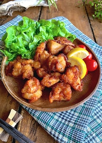 『柔らかさと味の良さにやみつき‼︎【鶏むね肉の唐揚げ】』