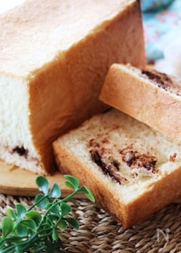 『ふんわり口溶けとろける美味しさ♪チョコとミルクの生食パン』