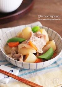 『味付け冷凍で平日を楽にする♡煮るだけ!放置で完成の肉じゃが♡』