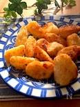 揚げ焼きで簡単♡カリッとホクッと長芋の唐揚げ