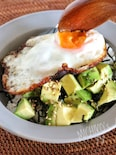 5分で朝食*栄養満点アボカド丼