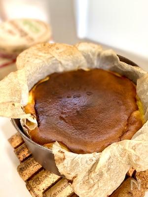 食べきりサイズ☆バスクチーズケーキ