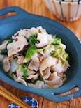 重ねて放置で完成♪『豚バラ白菜のにんにく醤油蒸し』