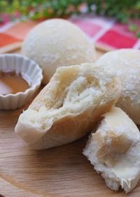 『ホームベーカリーで簡単!もちもち白パン♡』