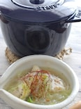 鶏手羽元の中華スープ