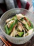 オクラとささ身の香味ポン酢サラダ【#作り置き#レンジ】