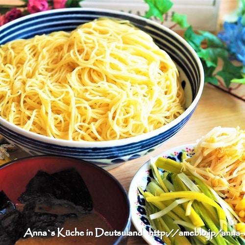 鍋一つで混ぜるだけ♪【味噌つけ麺の濃厚スープ】