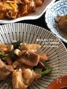 鶏もも肉とブロッコリーのレモン中華炒め🍋