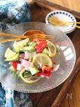 夏野菜の塩麹レモンマリネ