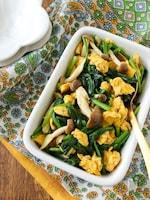 常備菜*ほうれん草と卵のエスニックナムル