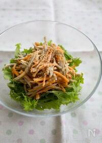 『『ごぼうとにんじんの味噌マヨサラダ』#お弁当#作り置き』