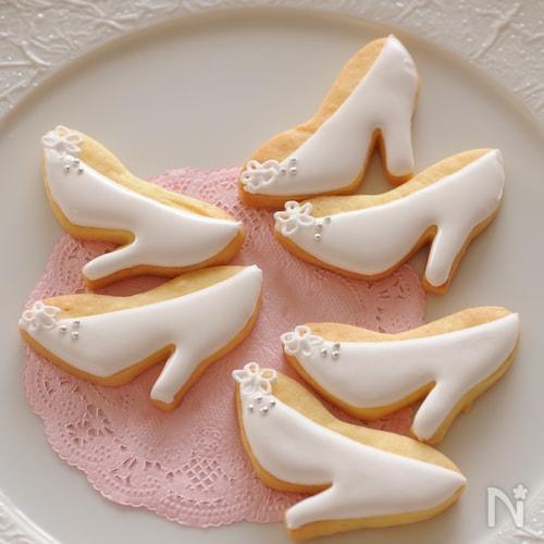 アイシングクッキー(靴)