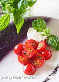 『♡プチトマトのアールグレイマリネ#作り置き#簡単つまみ』