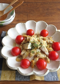 『旨味たっぷり◎白身魚のアクアパッツァ』