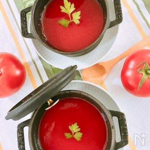 100%トマトのゼリー