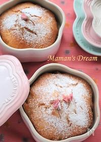 『桜あん(こしあん、白あんOK!)のケーキ』