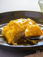 ふわふわ卵の黒酢あんかけ丼