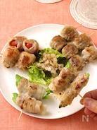 野菜が美味しい♪気軽に作れるミニ豚巻き串