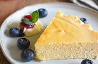 【混ぜて焼くだけ】生チーズケーキ