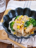煮込み不要♪『鶏むね肉とブロッコリーのチーズクリーム煮』