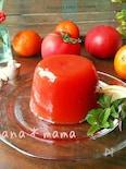 ヘルシー♪ジューシー♪トマトとオレンジのゼリー♪