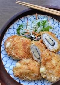 『サクッじゅわー♡旨味たっぷり♡鶏胸肉の海苔チーフライ♡』