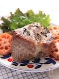 塩豚とレンコンのグリル