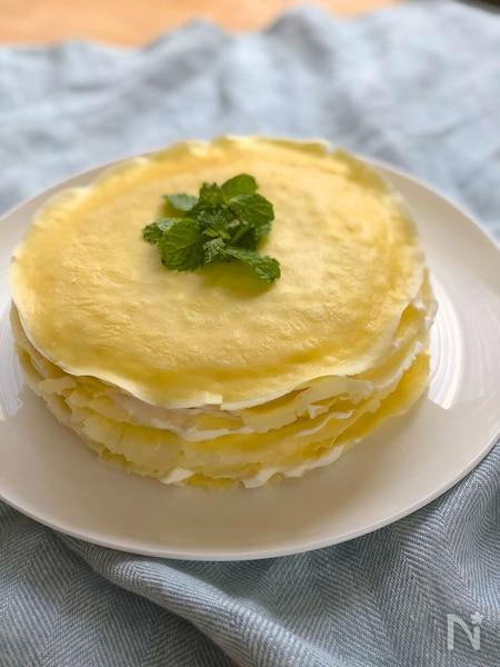 生地 ケーキ ミックス ホット クレープ