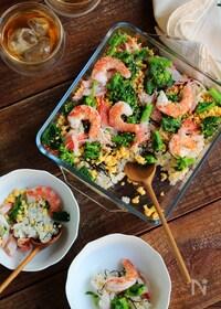 『酢飯の味がピタッと決まる!簡単ちらし寿司』