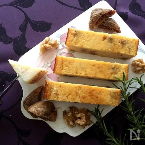 香り最高❤︎混ぜて焼くだけ簡単!『パルミジャーノチーズケーキ』