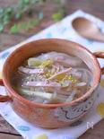炒めてコク旨!もやしとネギの中華スープ☆風邪予防に♪