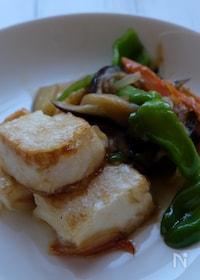 『10月2日豆腐の日に…ふんわり揚げ出し豆腐と野菜の炒め煮‼️』