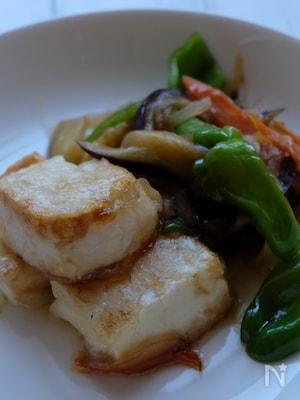 10月2日豆腐の日に…ふんわり揚げ出し豆腐と野菜の炒め煮‼️