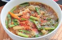 酸辣湯はるさめスープ§ダイエットサンラータンスープ