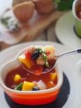 【10分で出来る】お豆たっぷり簡単ミネストローネ#缶詰ダブル