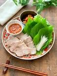 さっぱりジューシー!韓国風茹で豚『ポッサム』