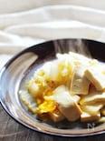 白菜と豆腐の卵とじ