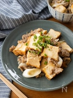 『厚揚げと豚肉の中華風とろみ炒め』#簡単#のっけご飯