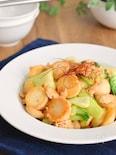 【ご飯が進む!】ホクホク里芋と鶏そぼろのオイスターソース炒め
