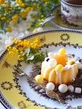 レモン風味のさわやかミモザケーキ