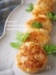 すりおろし筍の味噌もち