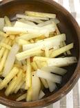 うどとりんごのサラダ